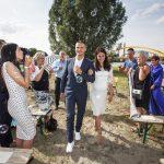 Nederland, Utrecht, 18 juli 2015. Bruiloft Alex van Olst en Naima van Olst - Baaziz.